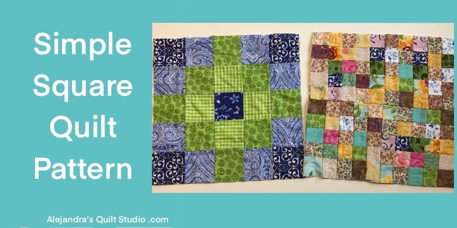 Simple Square Quilt Patterns