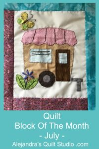 Quilt Block Of The Month - July