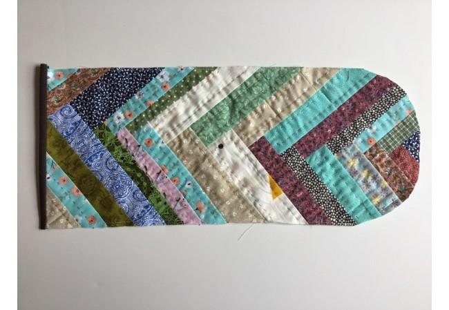 Patchwork Envelope Clutch