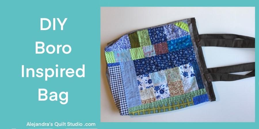 DIY Boro Inspired Tote Bag